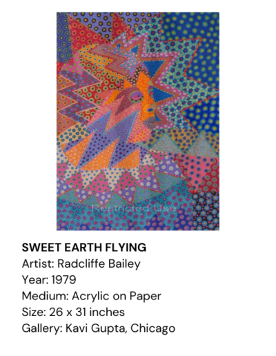 SWEET EARTH FLYING, Radcliffe Bailey